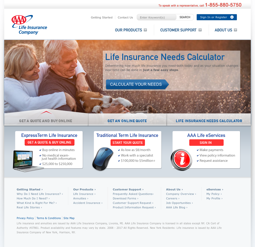 AAA Life Insurance Competitors, Revenue and Employees