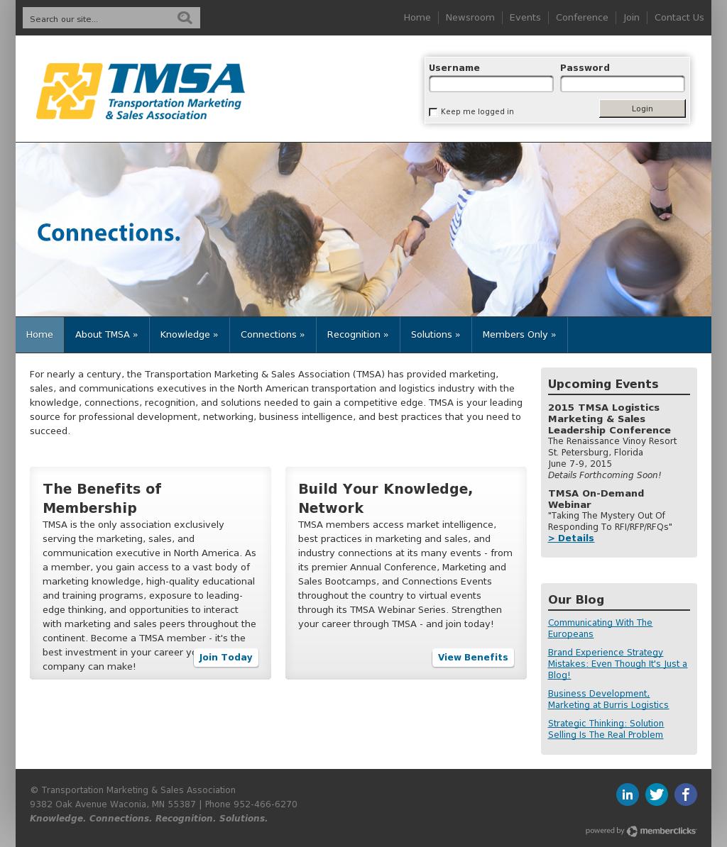 Transportation Marketing & Sales Association Competitors