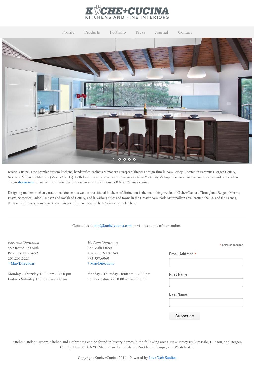 Fantastisch Küche Interieur Design Webseiten Galerie - Küchenschrank ...