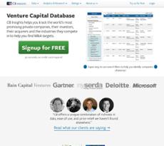 CB Insights website history