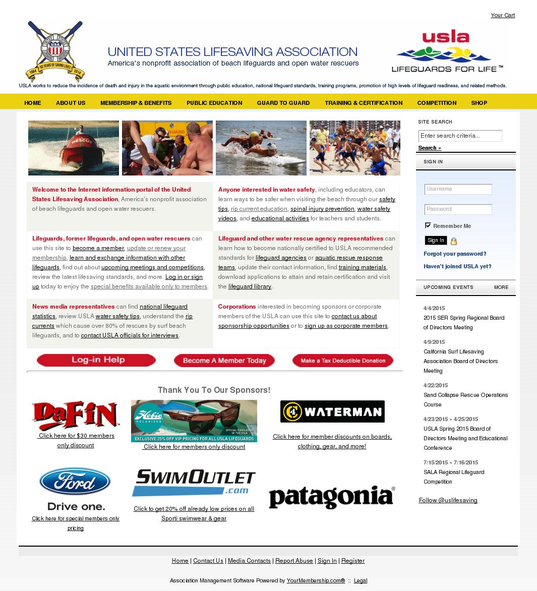 42e60e9d91fc United States Lifesaving Association Competitors