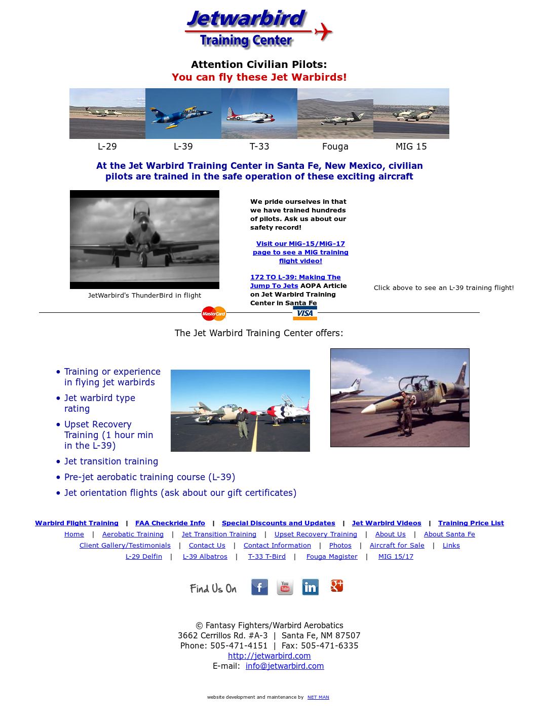 Jet Warbird Training Center Competitors, Revenue and