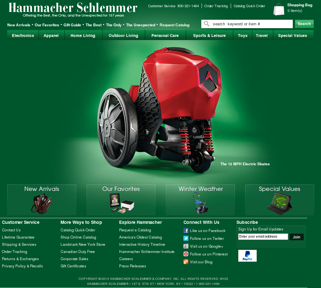 Hammacher Schlemmer Compeors Revenue And Employees Owler Company Profile