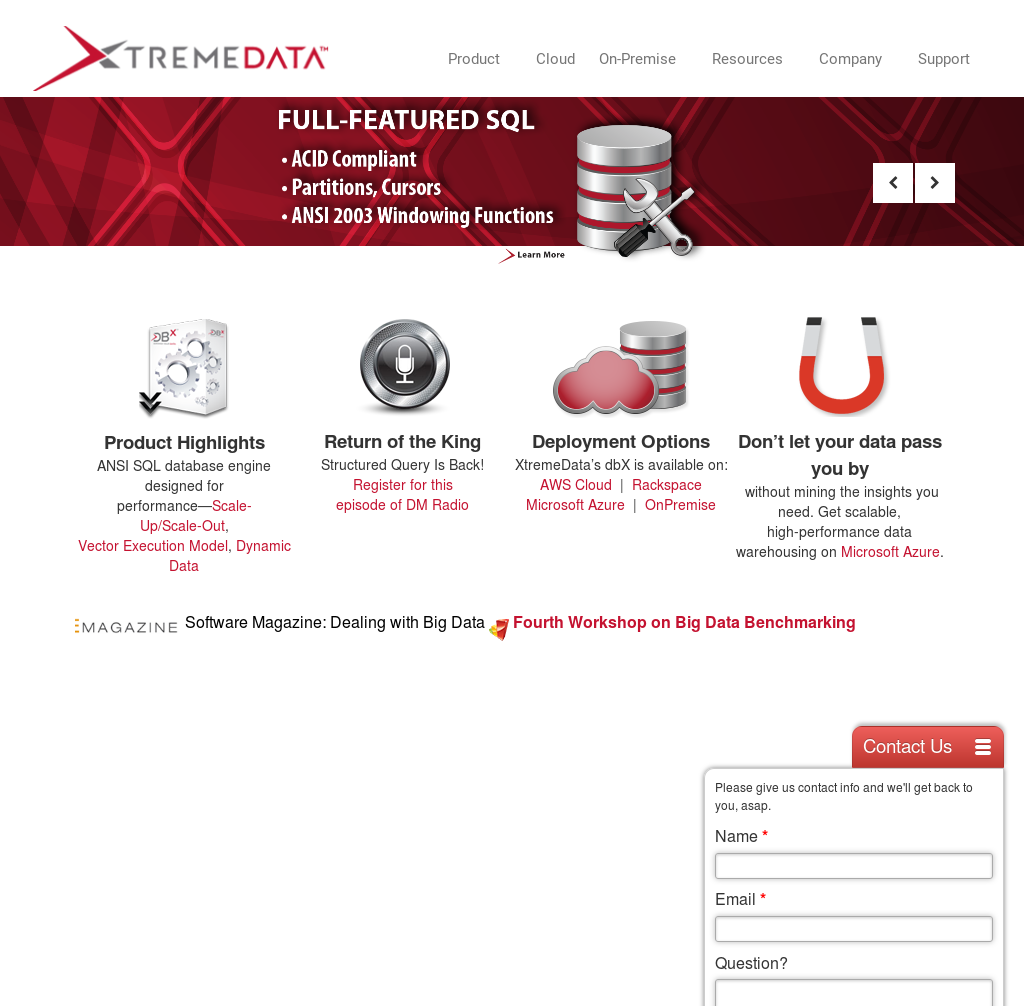 XtremeData Competitors, Revenue and Employees - Owler