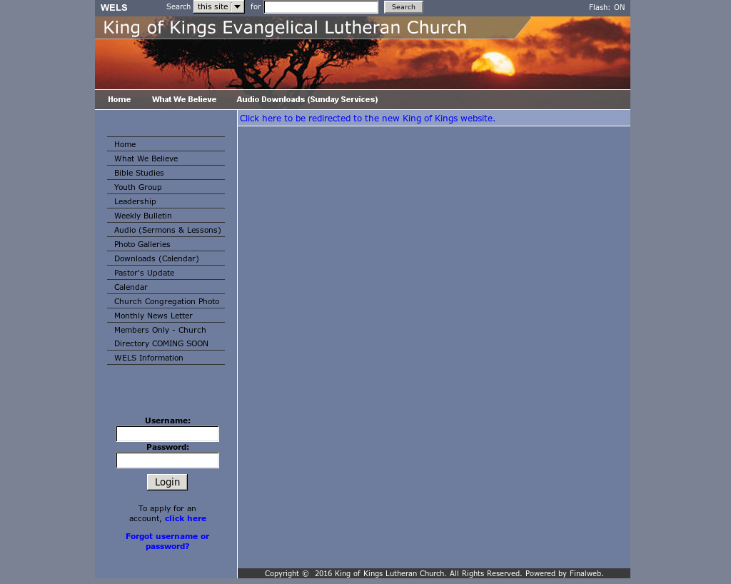 King of Kings Evangelical Lutheran Church Competitors