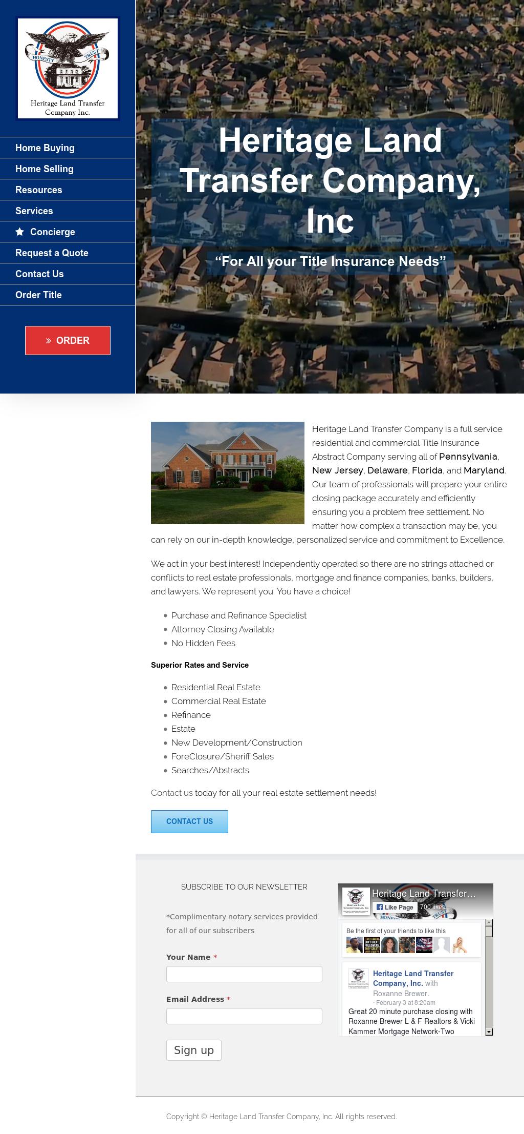 Heritage Land Transfer Company Competitors, Revenue and