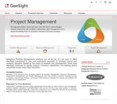 GenSight website history