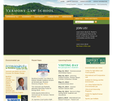 Vermont Law School Competitors, Revenue and Employees