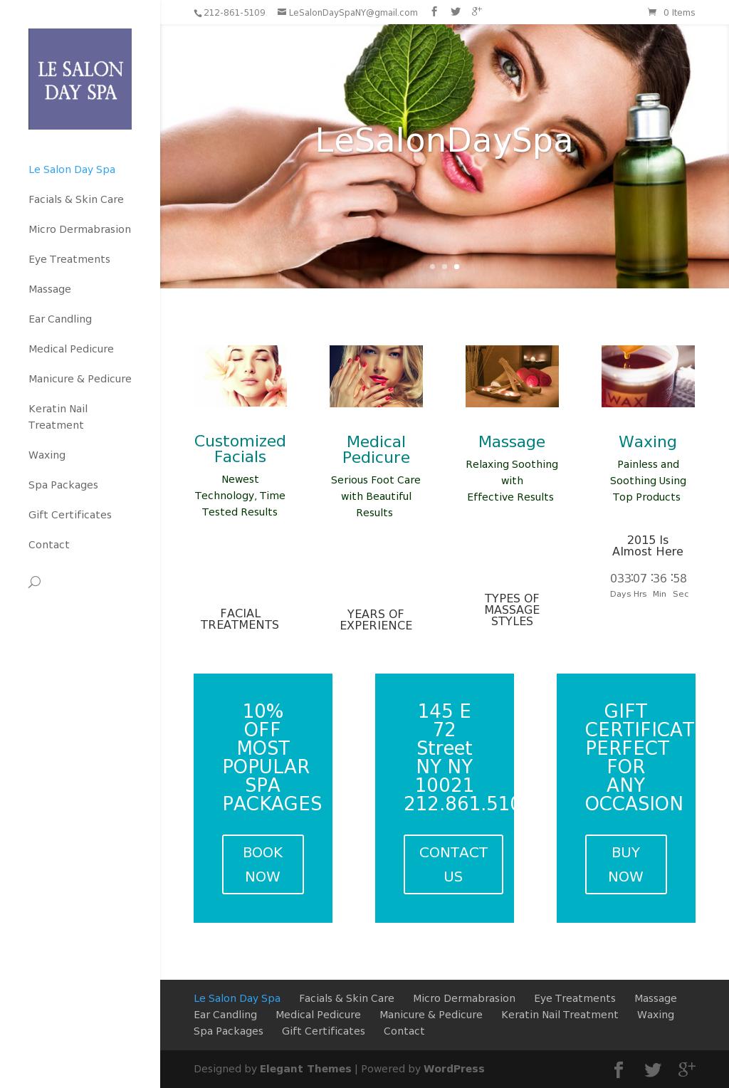 Le salon day spa company profile owler for Le salon spa