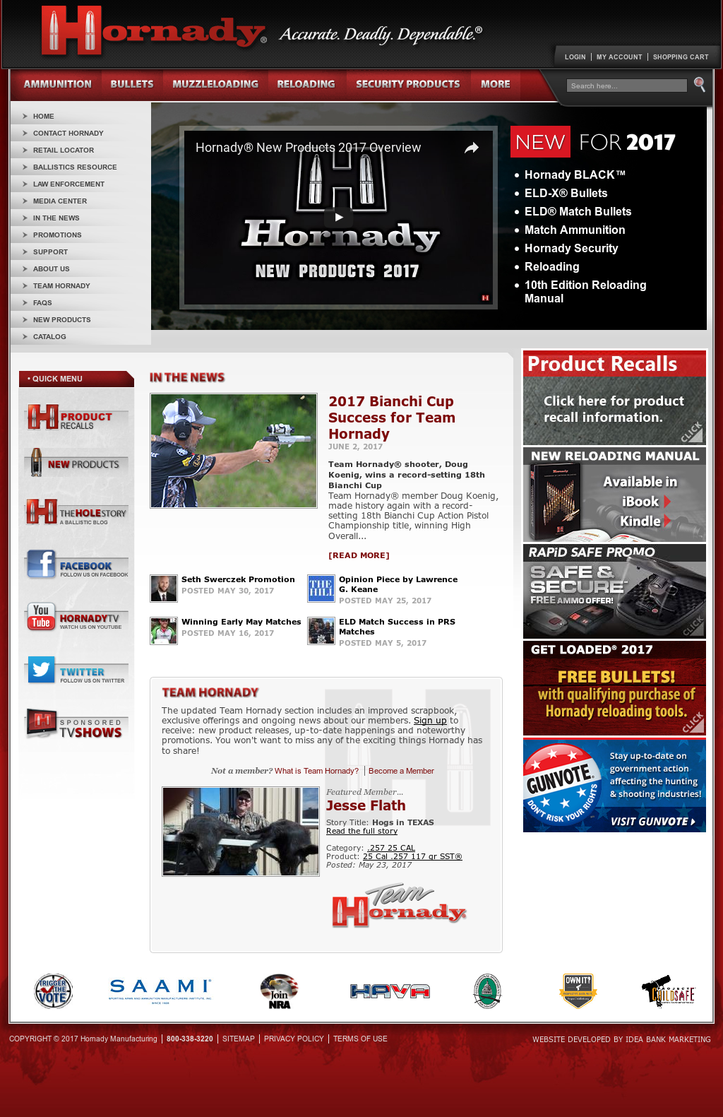 Hornady Competitors, Revenue and Employees - Owler Company