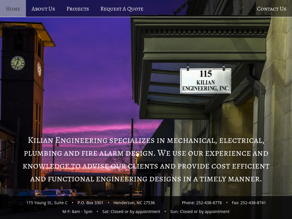 Kilian Engineering Competitors Revenue And Employees Owler Electrical Engineers Specialize In Mechanical Company Profile
