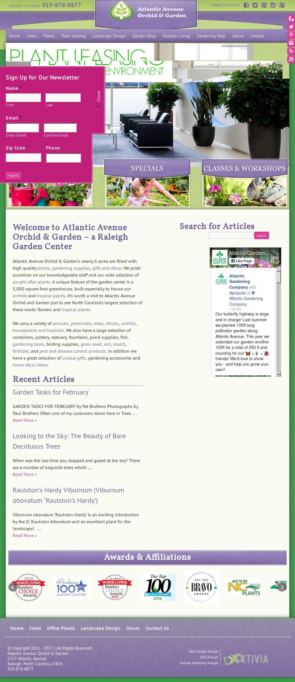 Atlantic Avenue Orchid And Garden Center Website History