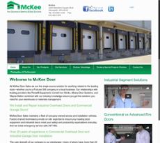 McKee Door Sales website history  sc 1 st  Owler & McKee Door Sales Competitors Revenue and Employees - Owler Company ...