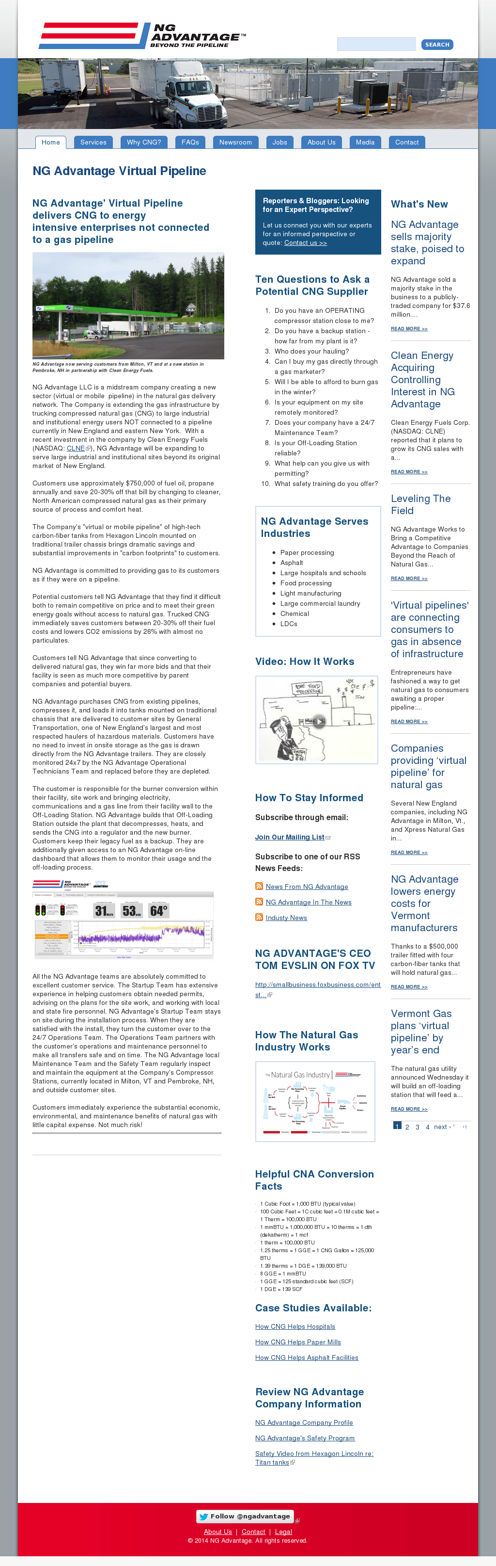 Ng Advantage S Latest News Blogs Press Releases Videos