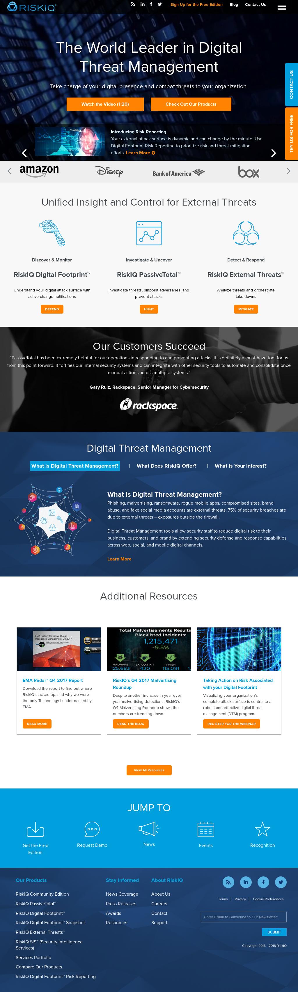 RiskIQ Competitors, Revenue and Employees - Owler Company Profile