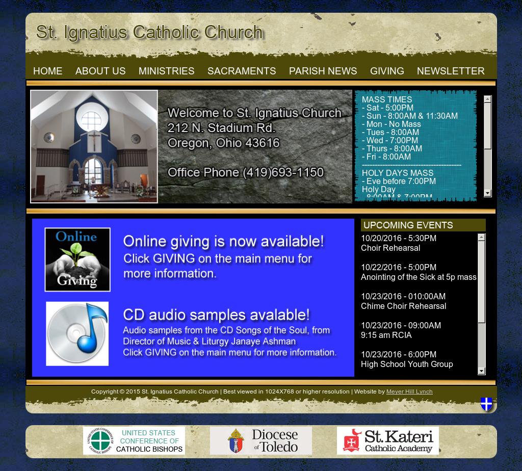 St  Ignatius Catholic Church Competitors, Revenue and