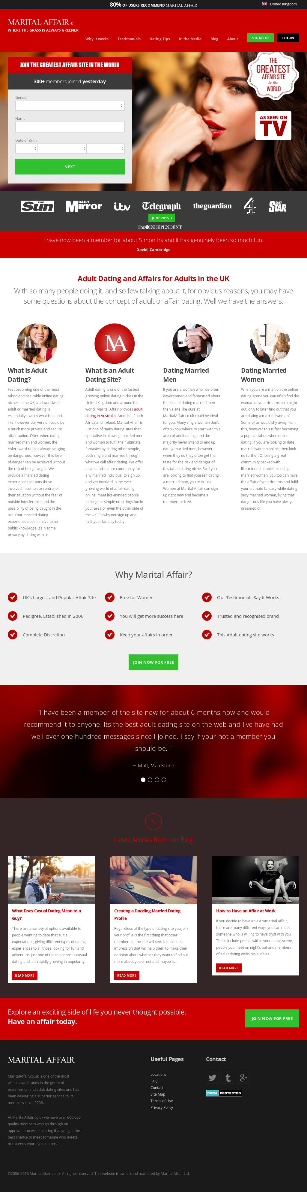 Adult affair website