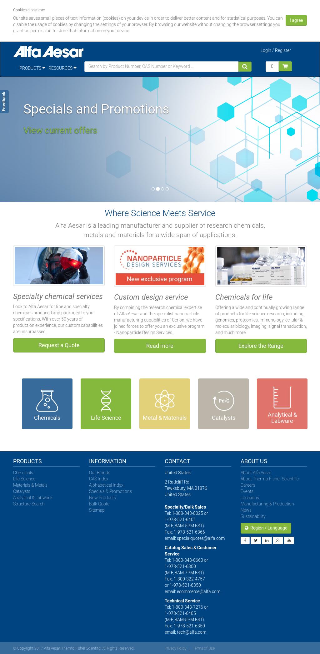 Alfa Aesar Competitors, Revenue and Employees - Owler Company Profile