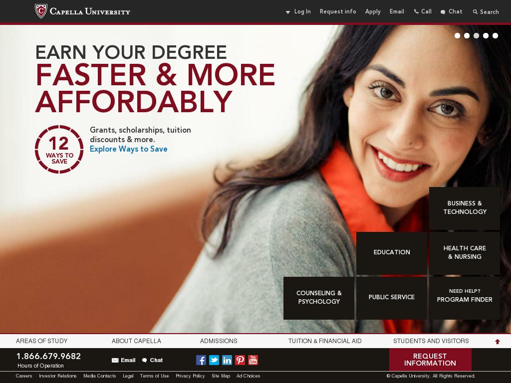 Capella University Competitors, Revenue and Employees