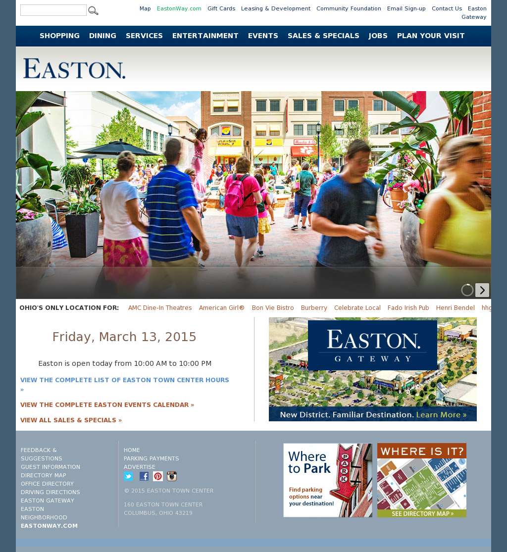 Easton Town Center Ii Competitors Revenue And Employees Owler