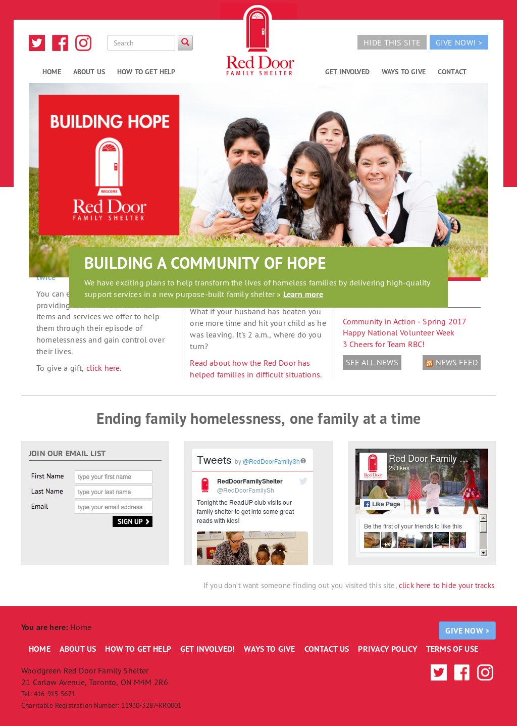 Red Door Family Shelter Competitors Revenue And Employees Owler