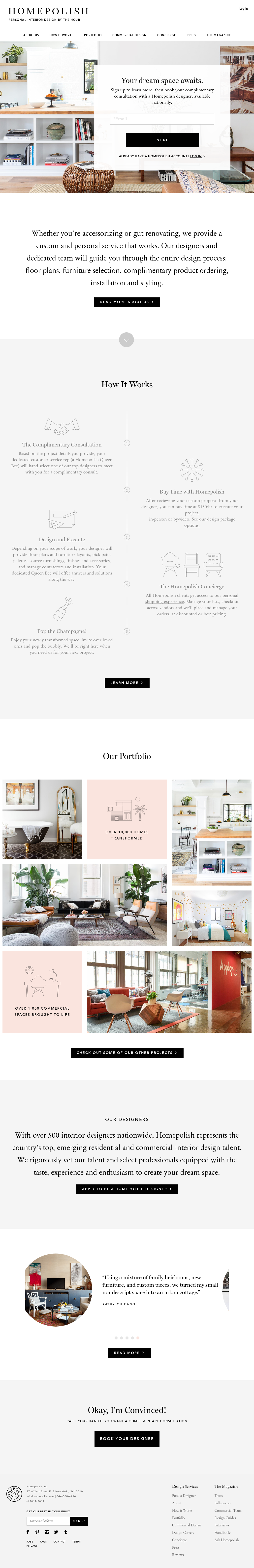 decorist sf office 2 website history homepolish competitors revenue and employees owler company profile