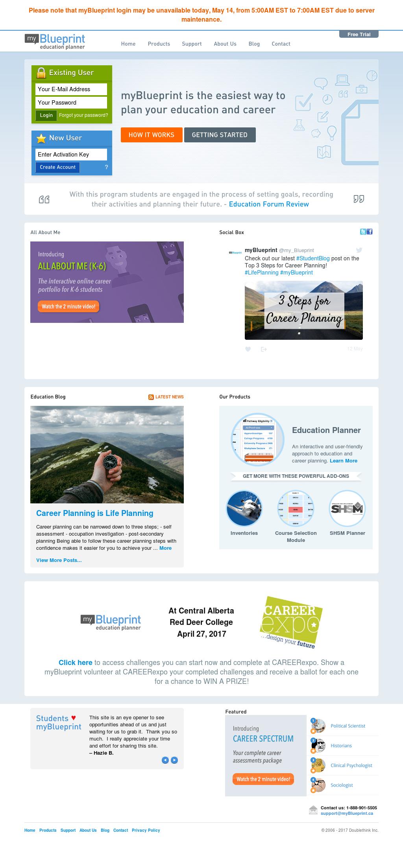 Myblueprint competitors revenue and employees owler company profile myblueprint website history malvernweather Images
