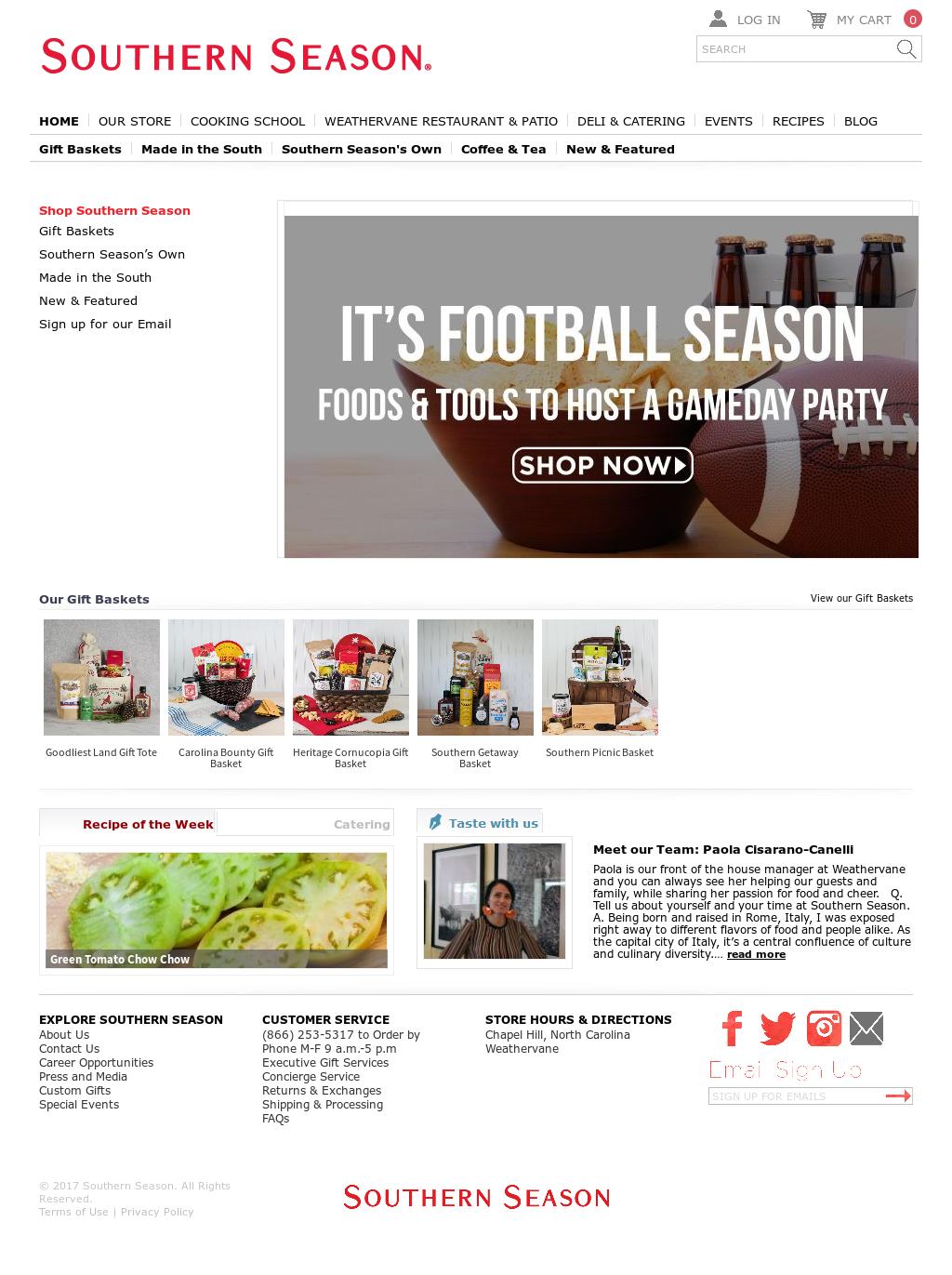 Southern Season Competitors, Revenue