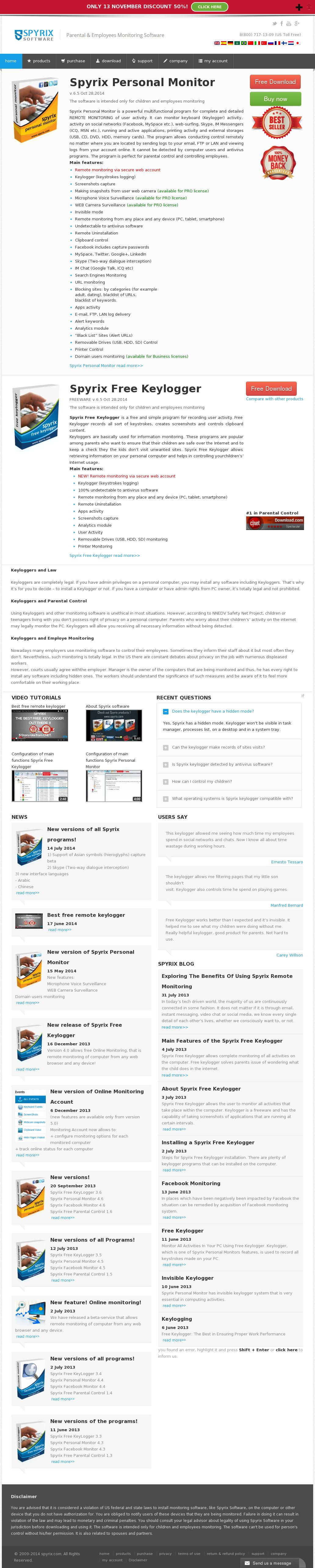 Spyrix Competitors, Revenue and Employees - Owler Company