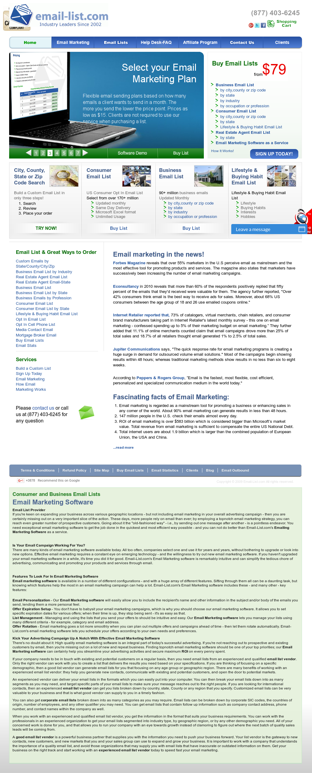 Email-List Competitors, Revenue and Employees - Owler