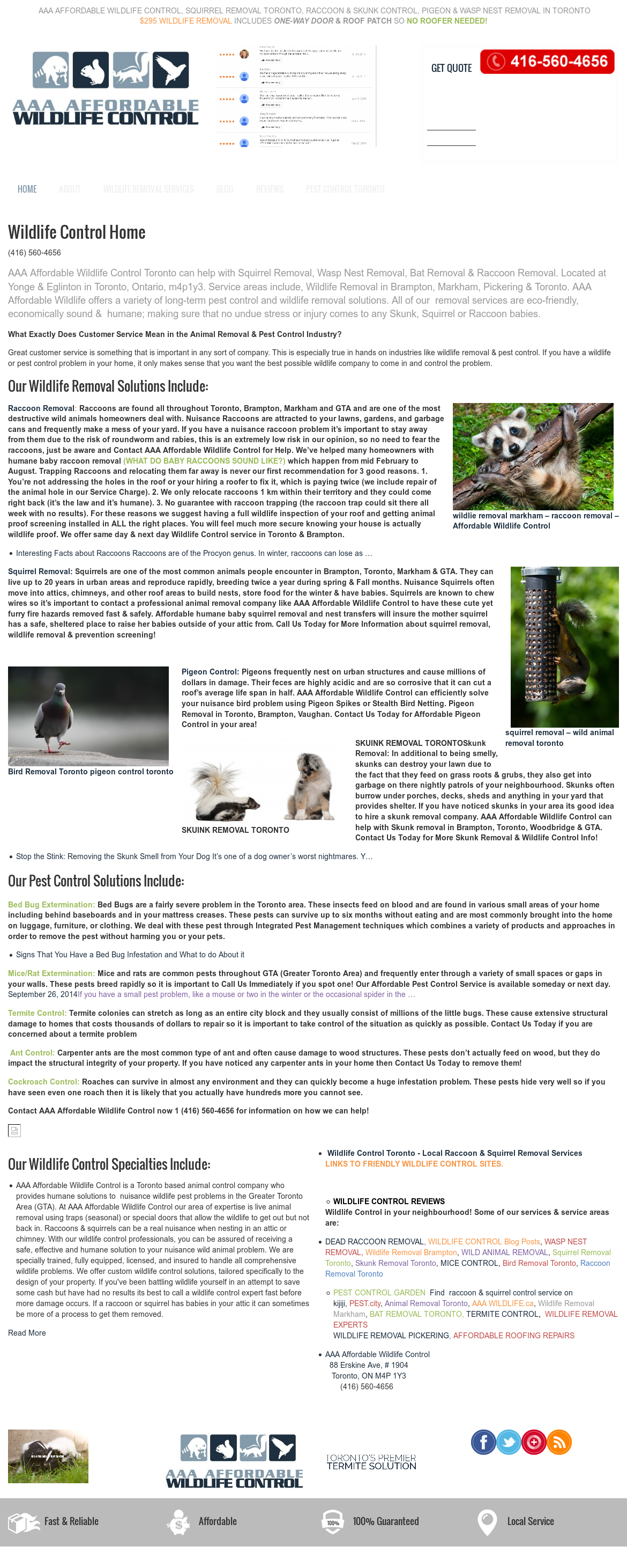 Affordable Wild Life Control S Competitors Revenue Number Of Employees Funding Acquisitions News Owler Company Profile