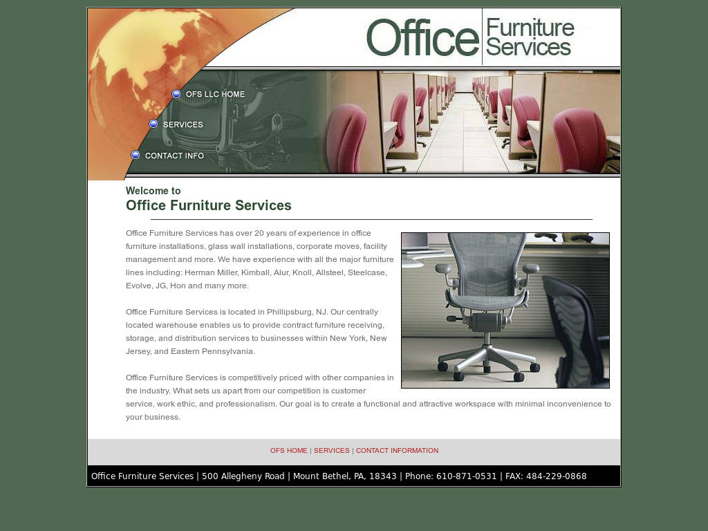 Office Furniture Services Competitors Revenue And Employees