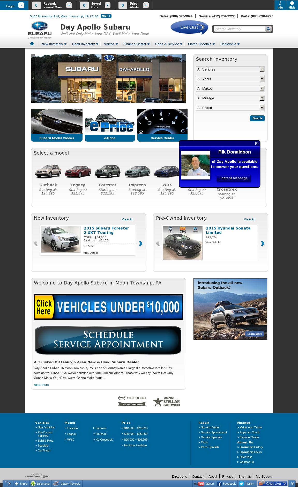 Day Apollo Subaru Competitors Revenue And Employees Owler Company