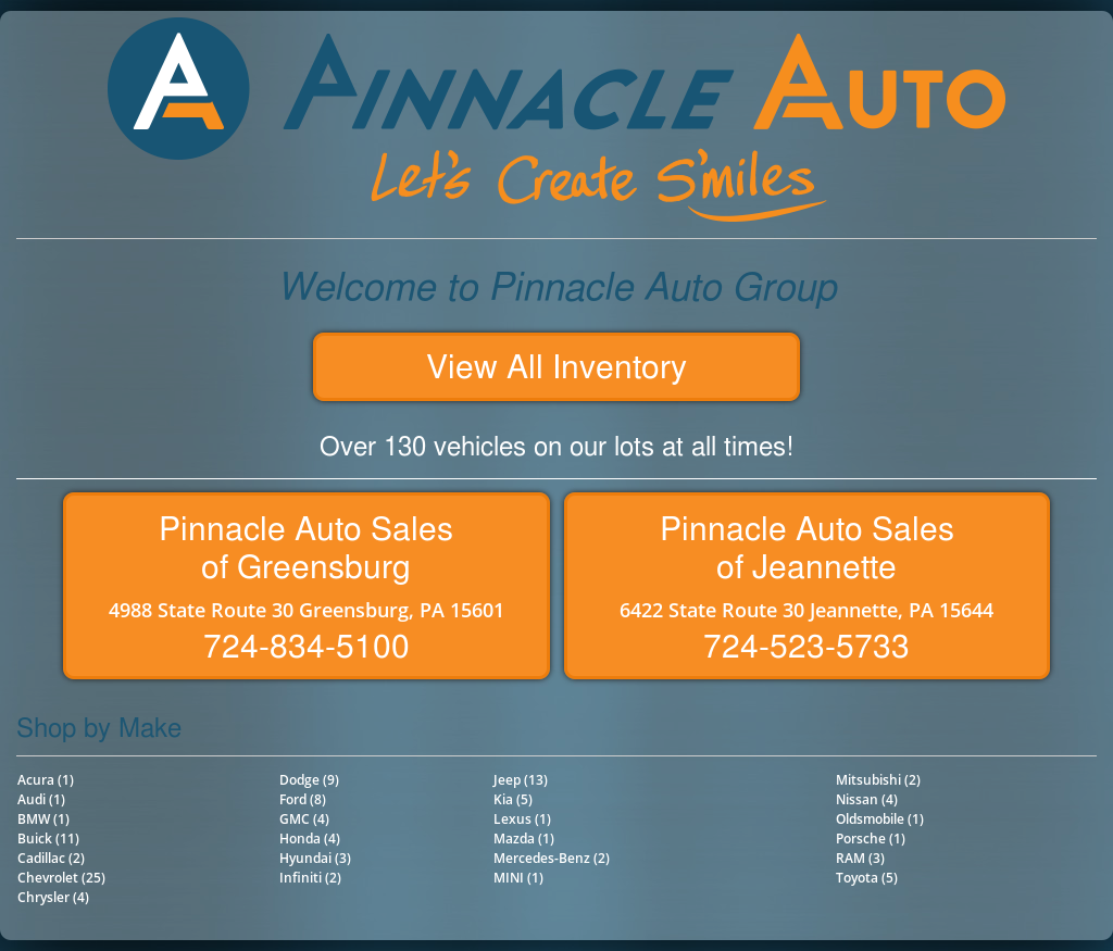 Pinnacle Auto Sales >> Pinnacle Auto Sales Competitors Revenue And Employees Owler