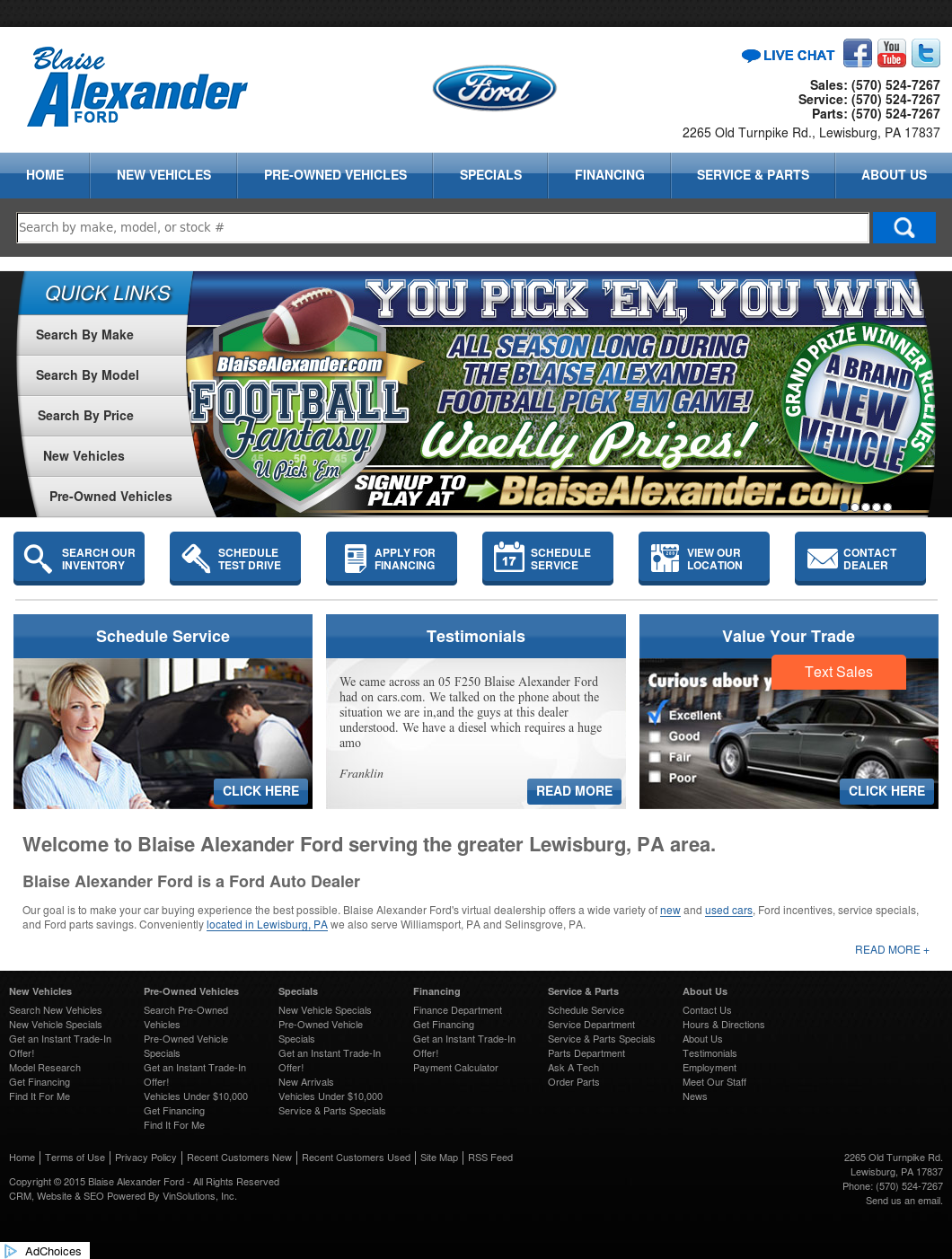 Blaise Alexander Ford Competitors, Revenue and Employees ... | blaise alexander ford