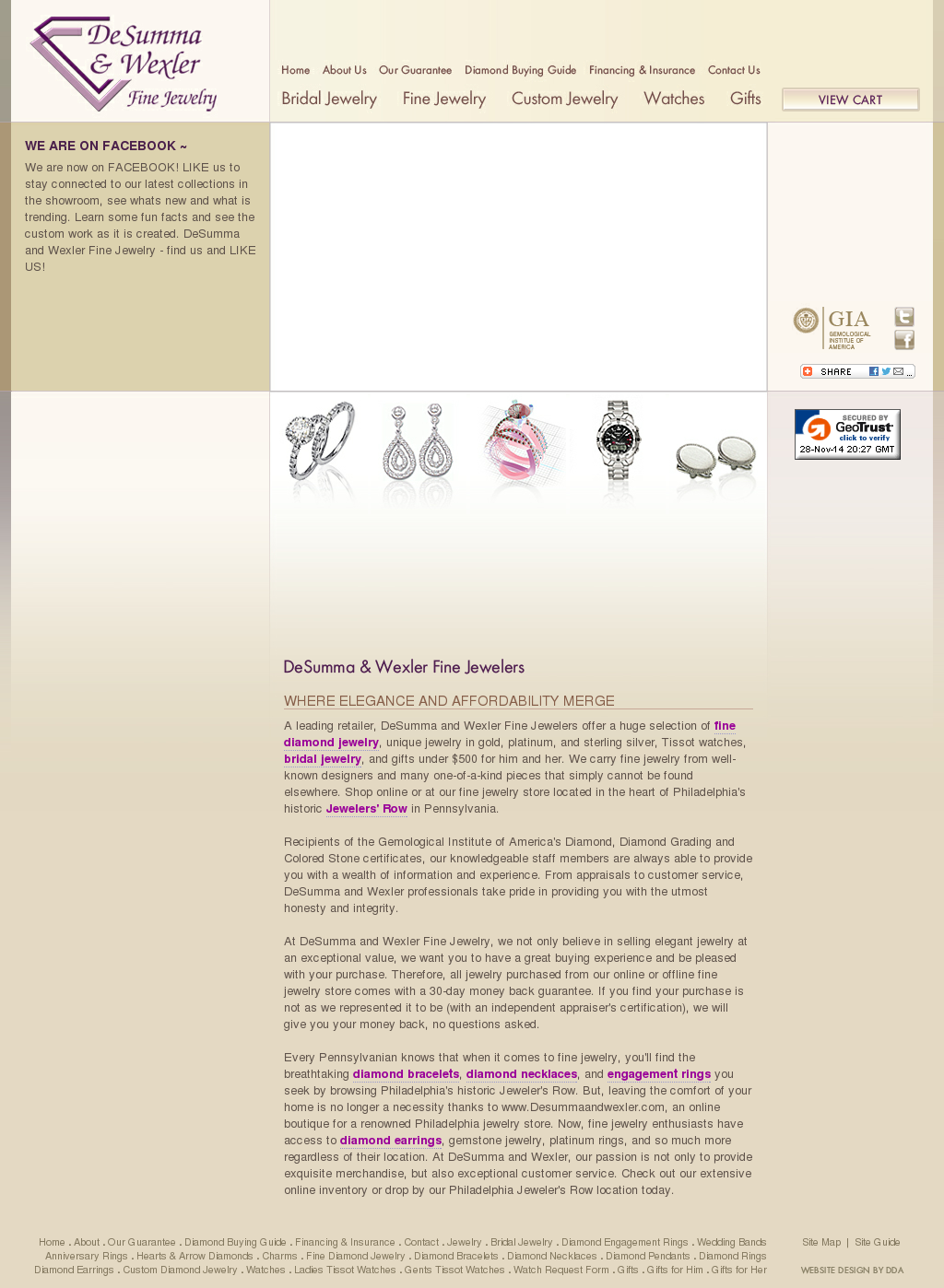 Desumma Wexler Fine Jewelry Competitors, Revenue and