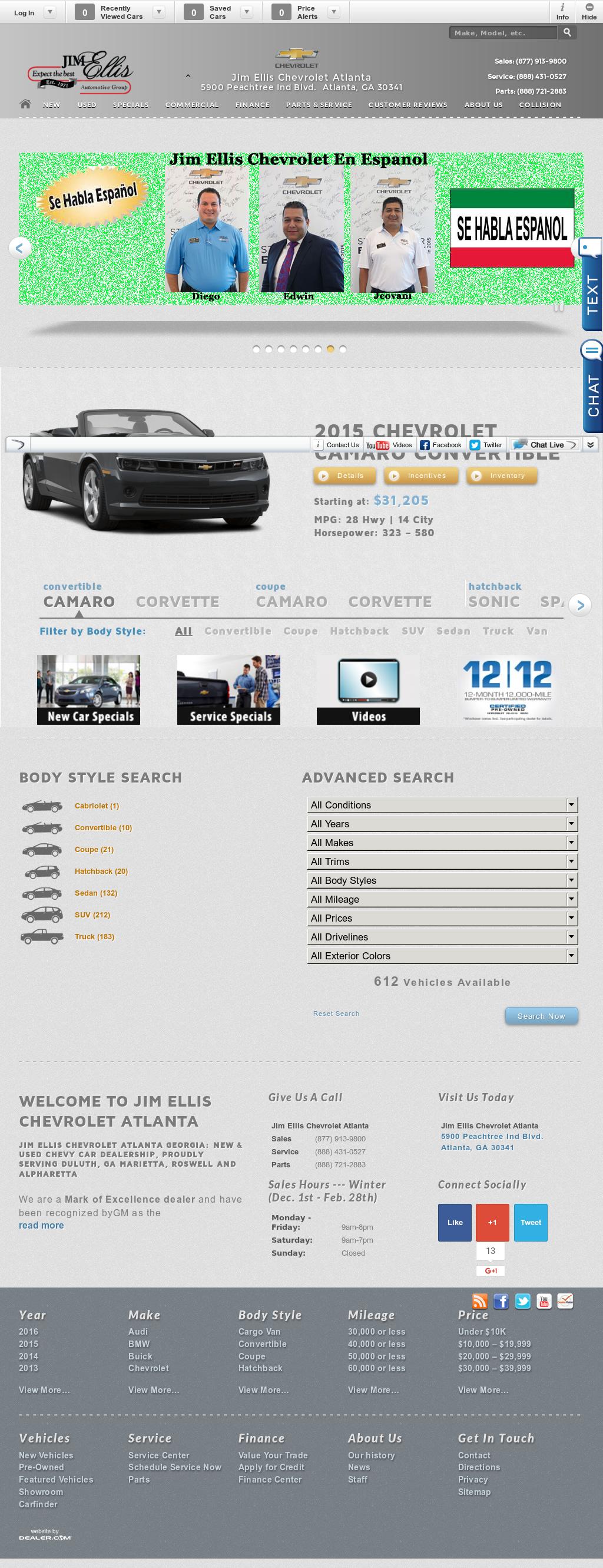for sale auto jim mcdonough new ga camaro com atlanta ellis in cars chevrolet img and used