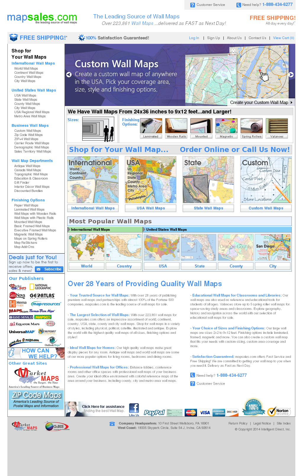 Wall Maps, World Wall Maps Competitors, Revenue and Employees ...