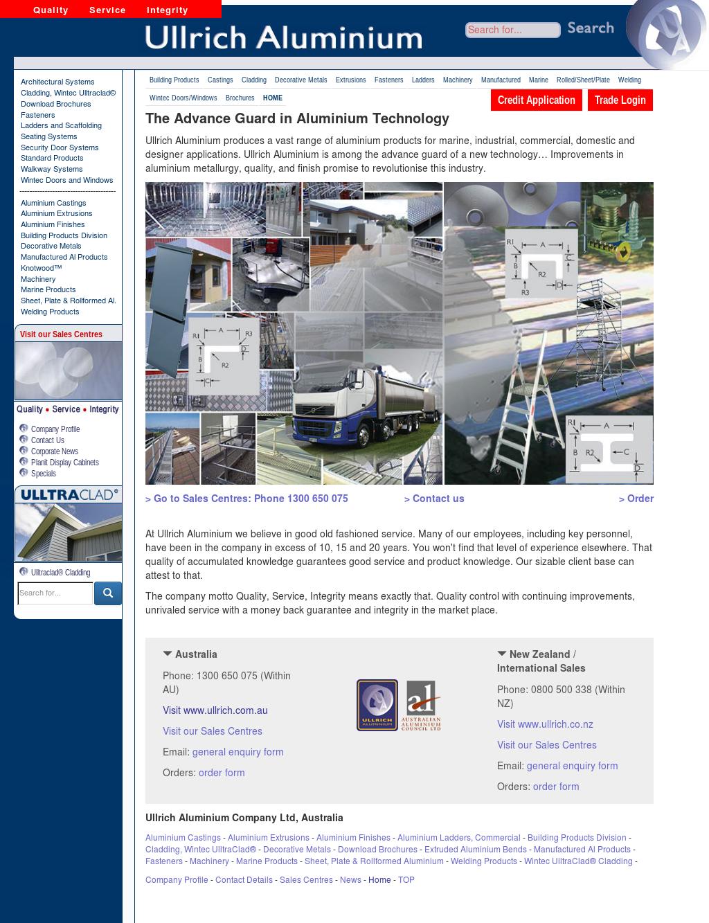 Aluminium Building Products