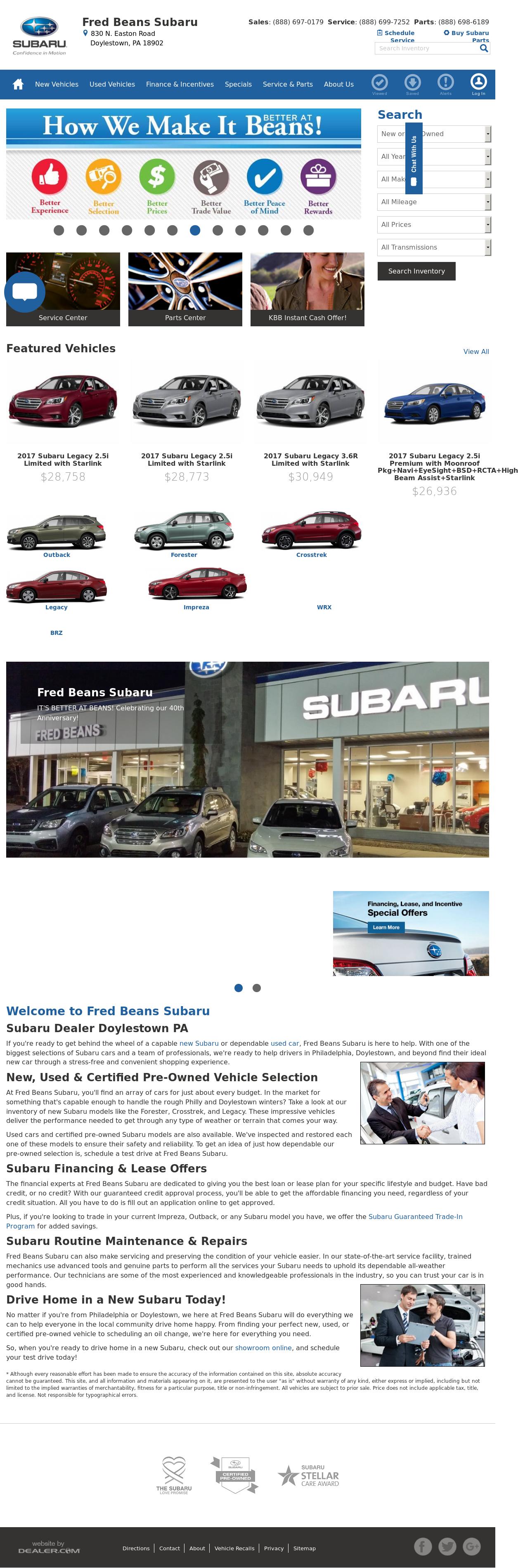 Fred Beans Subaru >> White Bear Subaru | News of New Car Release