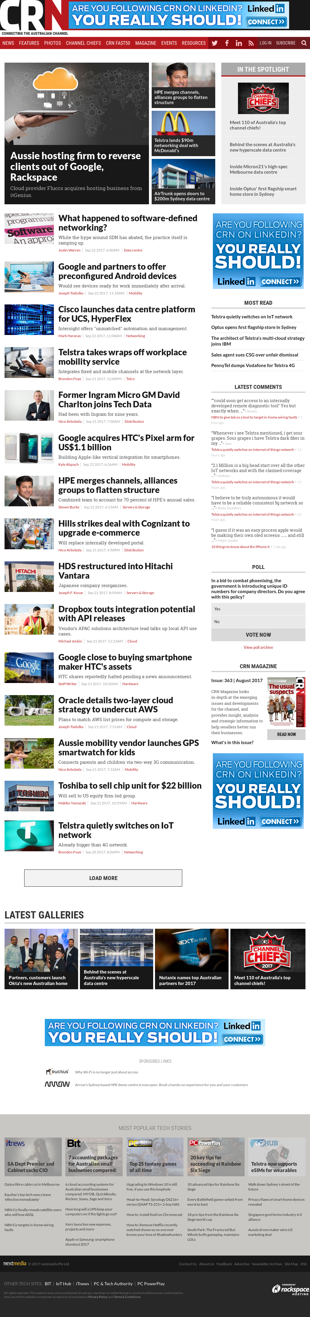 CRN - Computer Reseller News Competitors, Revenue and
