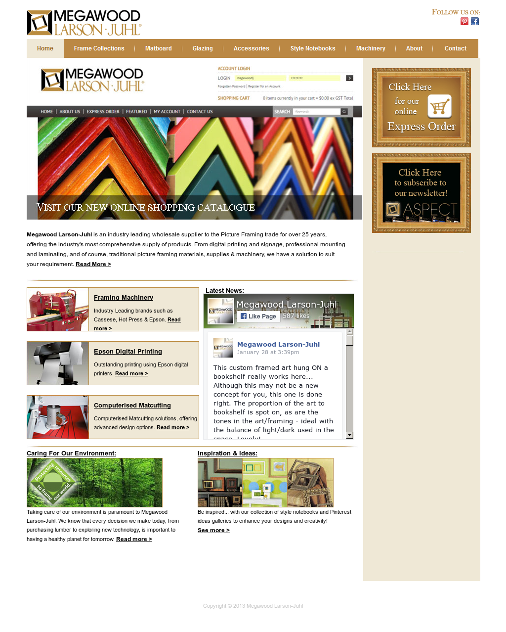 Lujo Larson Juhl Frames Online Bandera - Ideas Personalizadas de ...