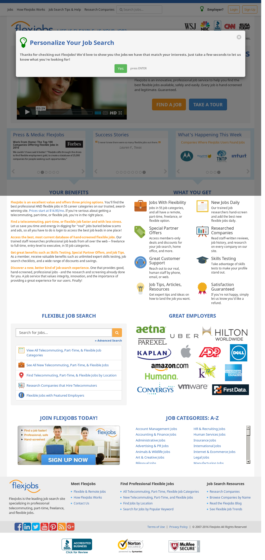 FlexJobs Competitors, Revenue and Employees - Owler Company Profile