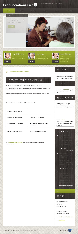 English Pronunciation Clinic Competitors, Revenue and