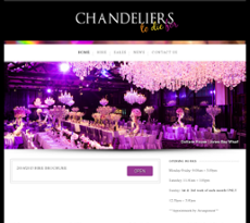 Chandeliers to die for competitors revenue and employees owler chandeliers to die for website history aloadofball Gallery