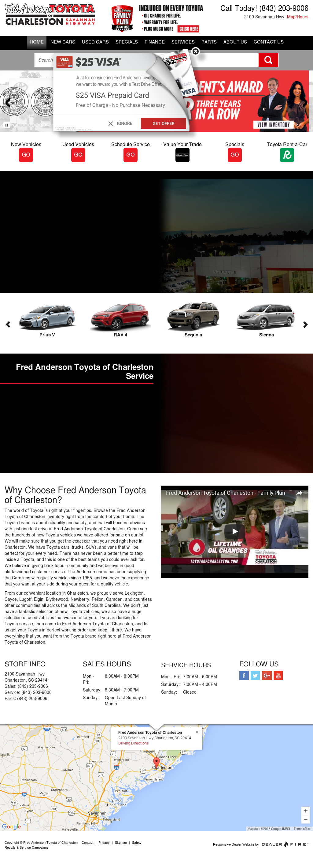 Fred Anderson Toyota Of Charleston S Competitors Revenue Number Of Employees Funding Acquisitions News Owler Company Profile