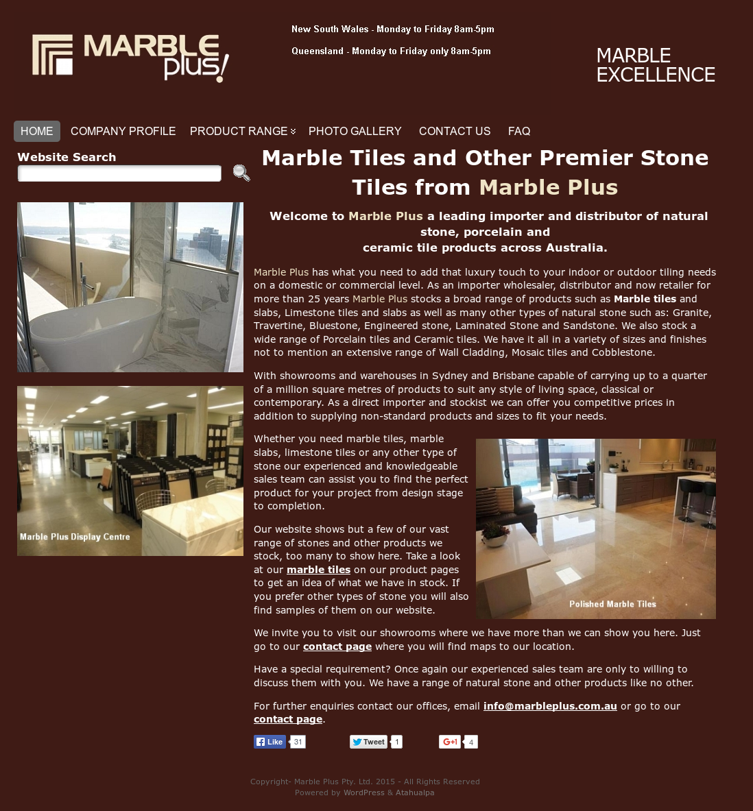 Marble plus competitors revenue and employees owler company profile marble plus website history dailygadgetfo Image collections