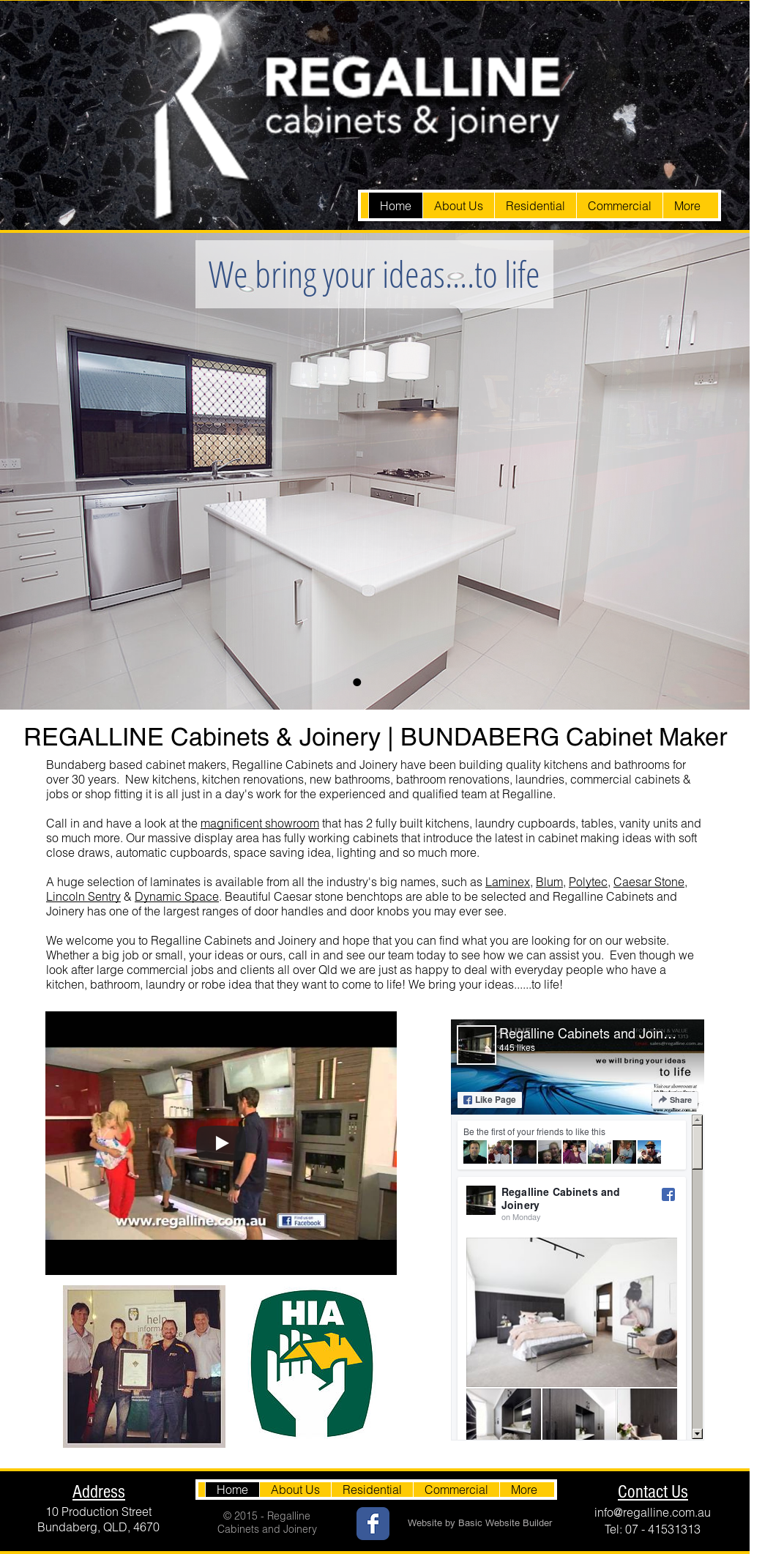 Regalline Cabinets & Joinery Competitors, Revenue and