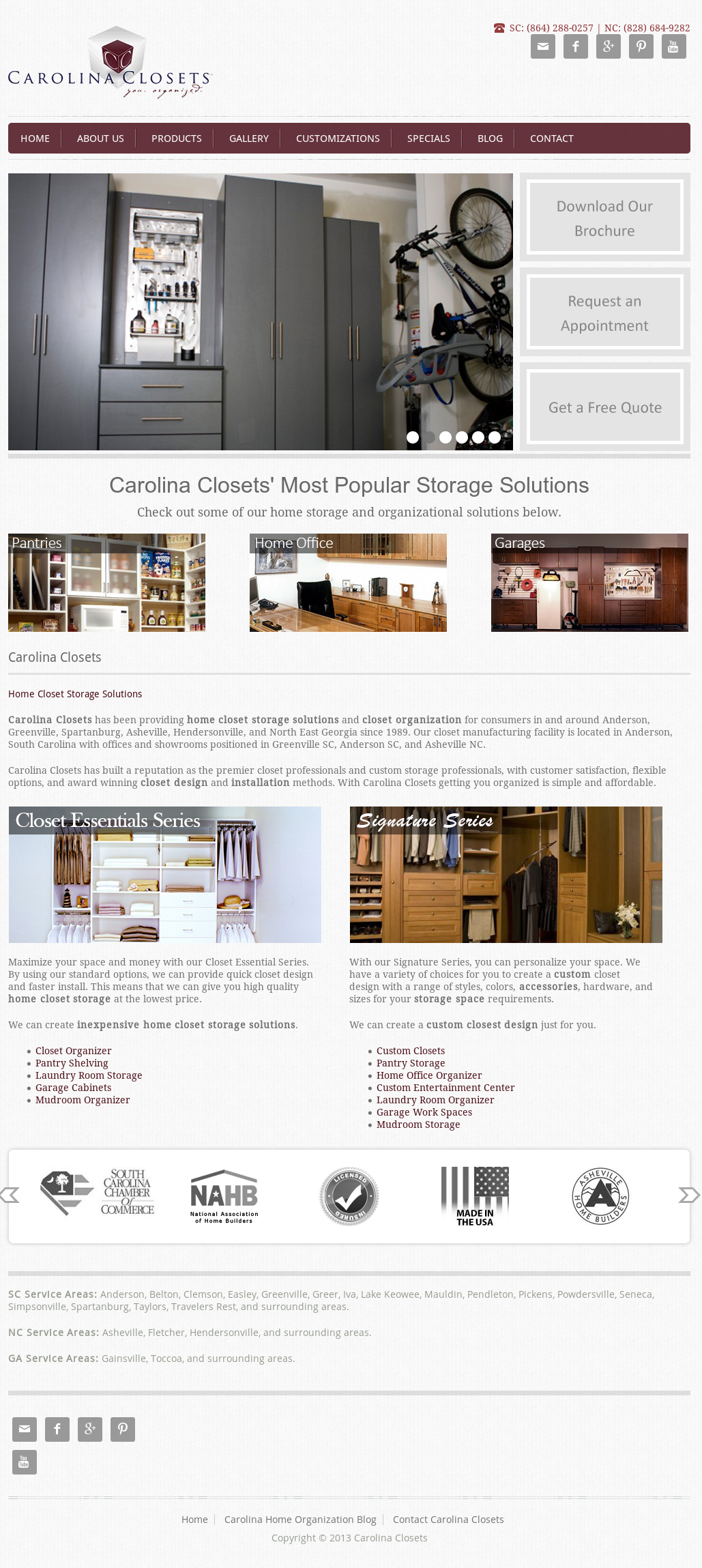 Carolina Closet Competitors, Revenue And Employees   Owler Company Profile