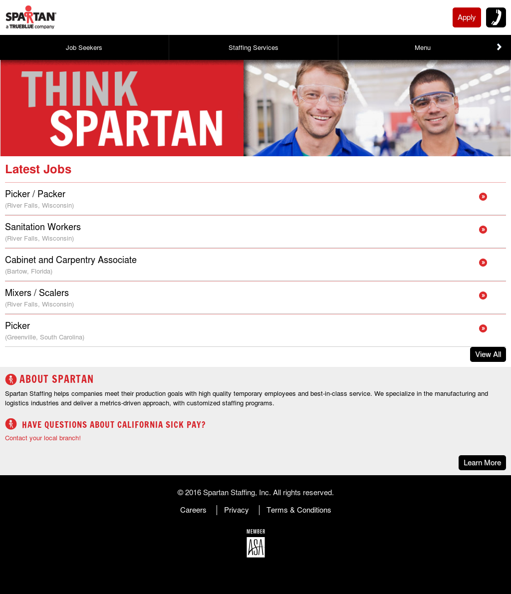 Spartan Staffing Competitors Revenue And Employees Owler Company